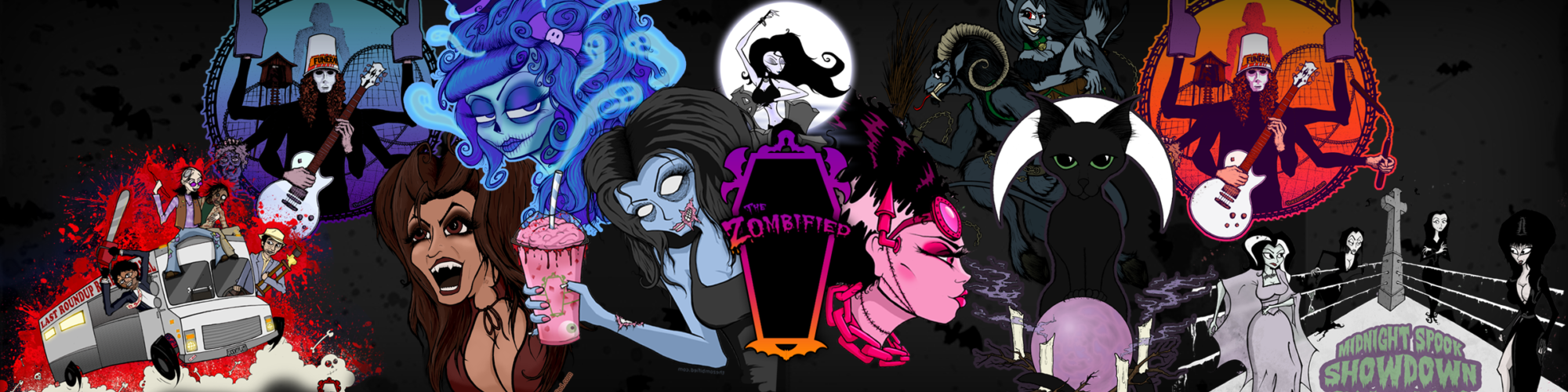 The Zombified – Undead Art for the Darkly Inclined